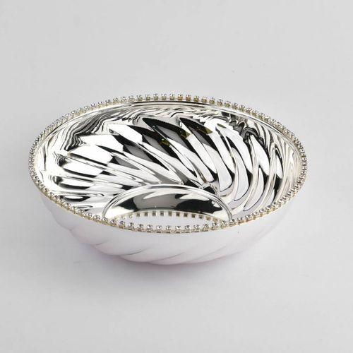 Crystal Rim Fruit Bowl