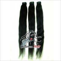 Cadenza Black Straight Human Hair Extension