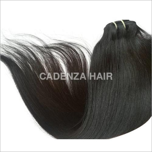 Black Straight Human Hair Extension