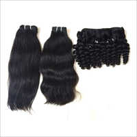Natural Hair Extension Straight Wavy and Curly