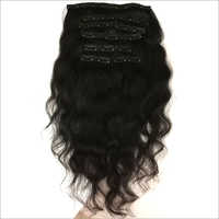 Black Clip Hair Extension
