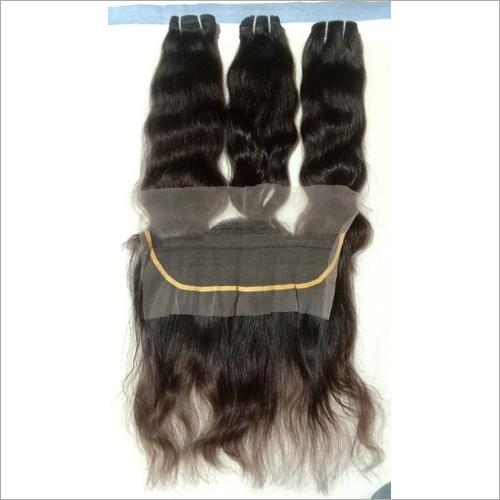 Remy Human Hair With Frontal