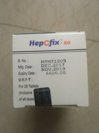 Hepcfix 60mg Tablet