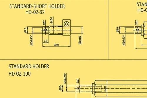Baker Gauges Contact Type Plug Gauge – Holders