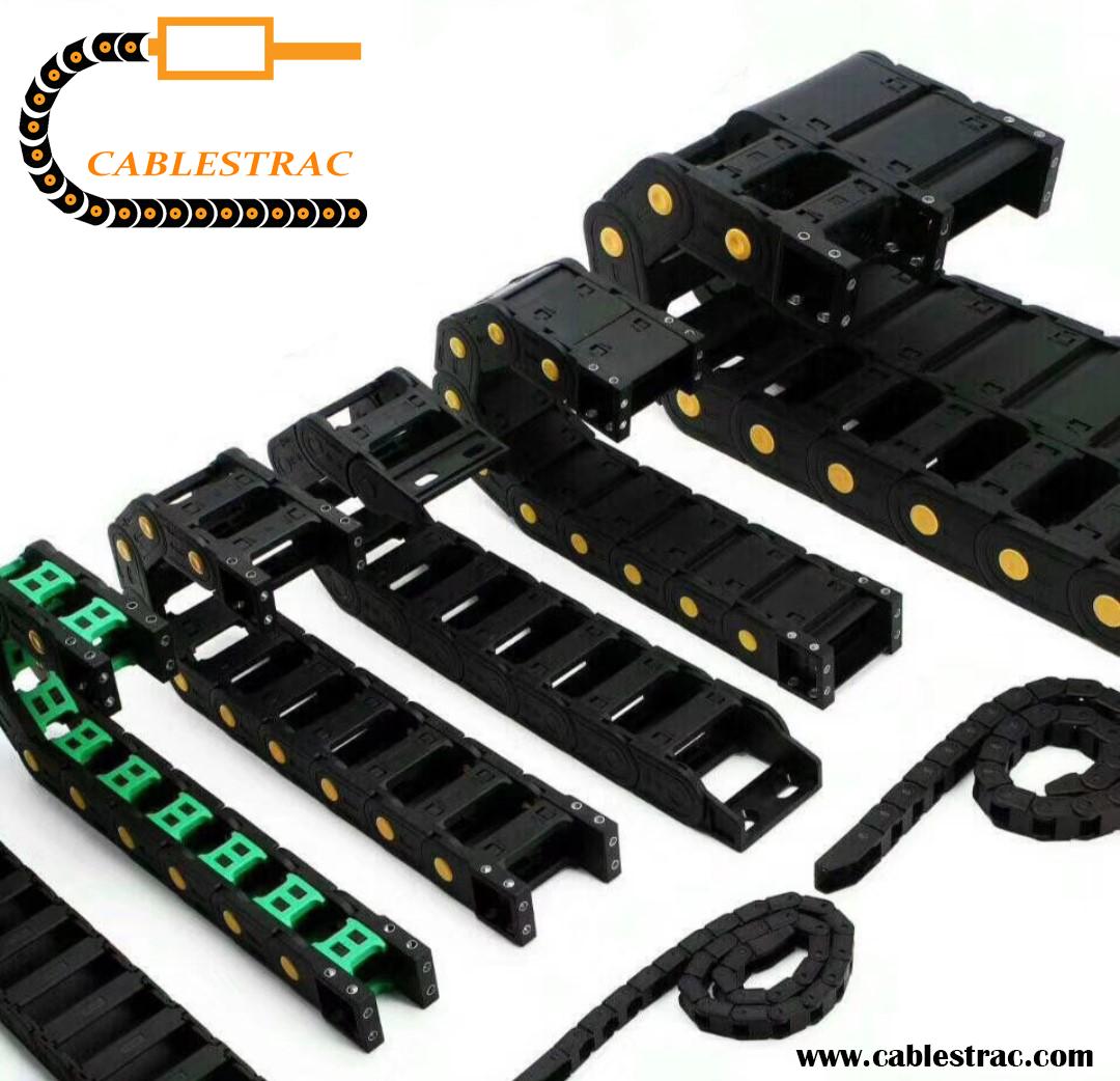 Cablestrac T18 Light Series Semi Closed Plastic Cable Drag Chain