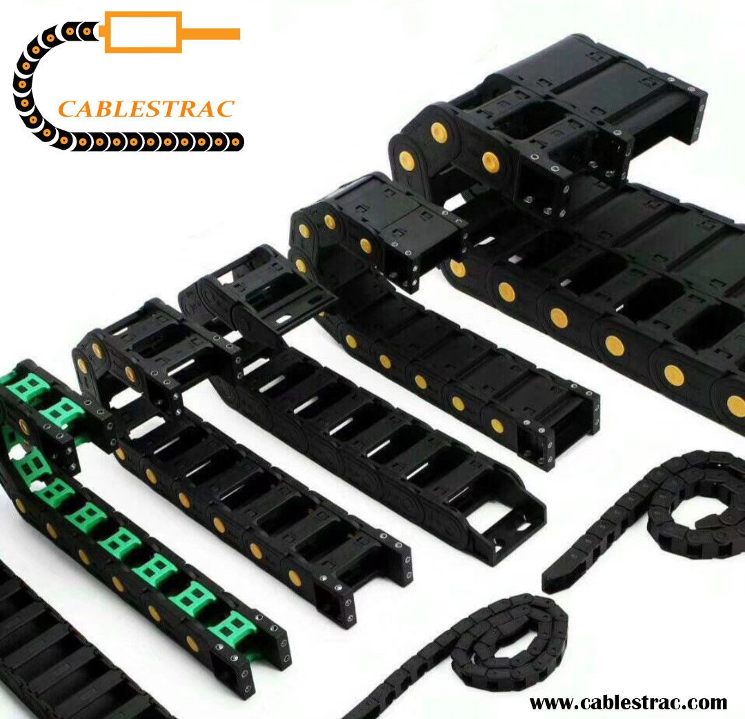 Cablestrac T10 Light  Plastic Cable Drag Chain