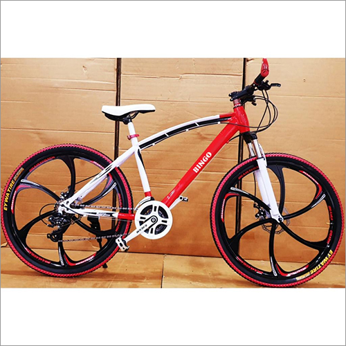 RED SLEEK 6 SPOKES NON FOLDABLE 21 GEARS CYCLE