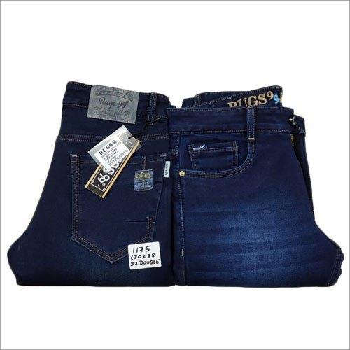 Mens Blue Denim Comfort Fit Jeans