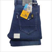 Mens Blue Denim Casual Wear Jeans
