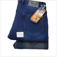 Mens Blue Denim Plain Jeans