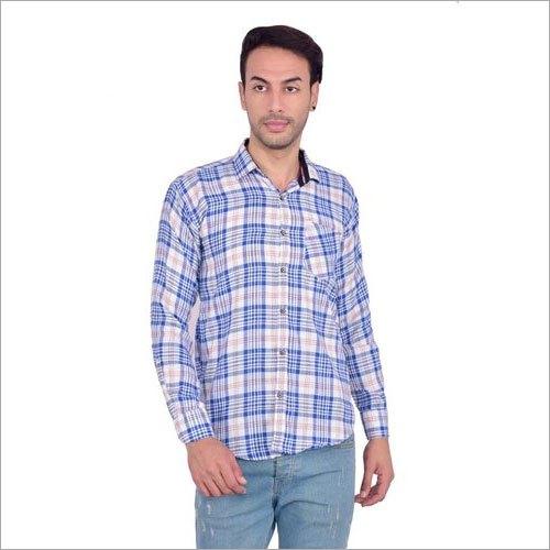 Mens Cotton Long Sleeves Shirt