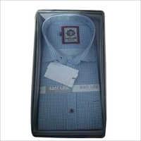 Mens Cotton Check Casual Shirt