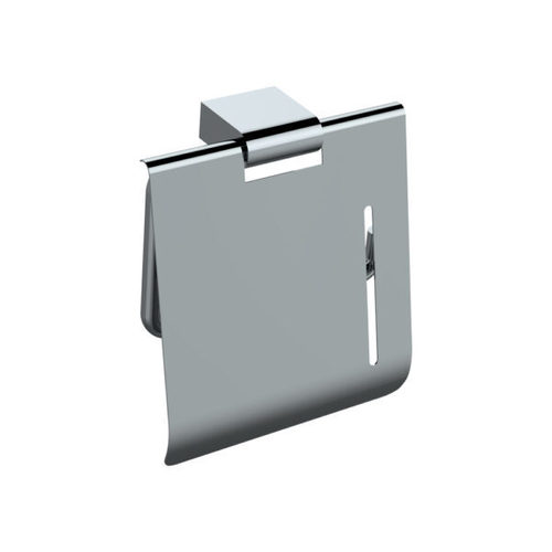 Toilet Paper Holder with Cover-Subtle
