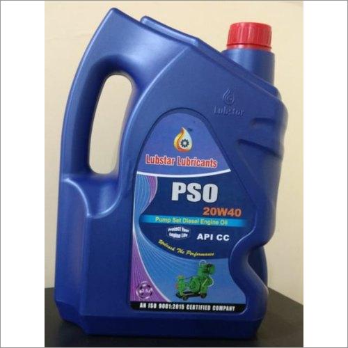 Pso 20w40 Pump Set Diesel Engine Oil