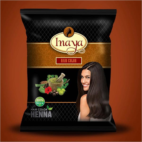Hair Color Henna Packaging Pouch