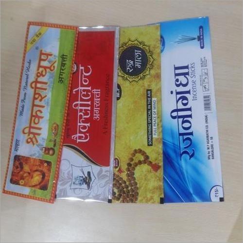 Agarbatti Packaging Pouch