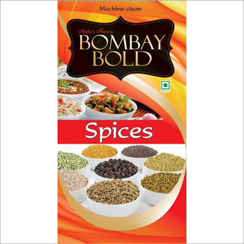 Raw Spices Packaging Pouch