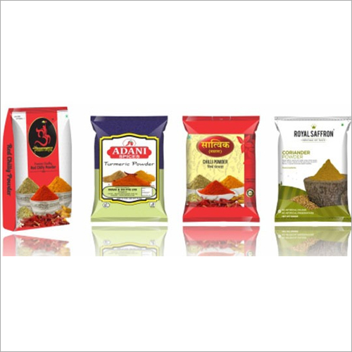 Powdered Masala Packaging Pouch