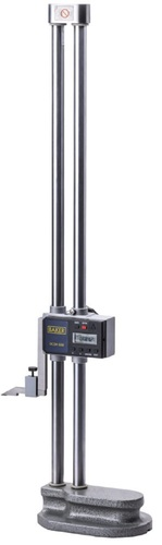 BAKER GAUGES DCDH300 Double Column Digital Height Gauge: Range0-300mm, 0-600mm