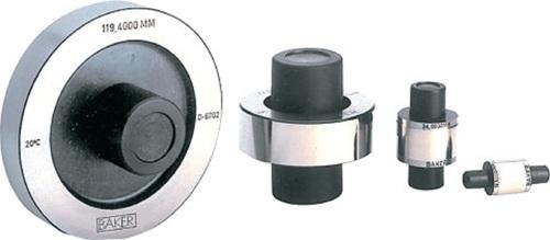 BAKER GAUGES Master Setting Disc: Range 3 -200 mm