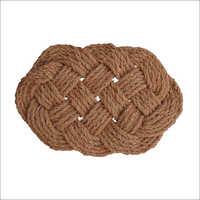 Handmade LKR Coir Rope Mat