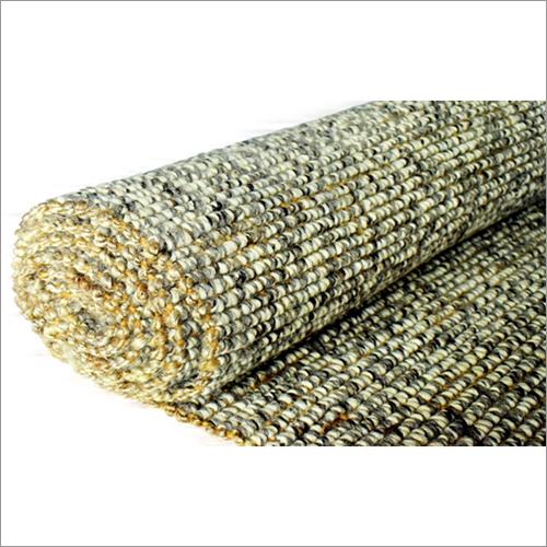 Wool Jute Boucle Grey Rug