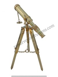 10 Inch Full Brass Telescope With Brass Stand