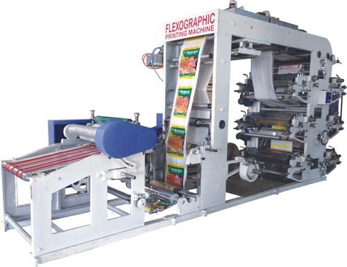 2 To 8 Four Colour Flexographic Printing Machine