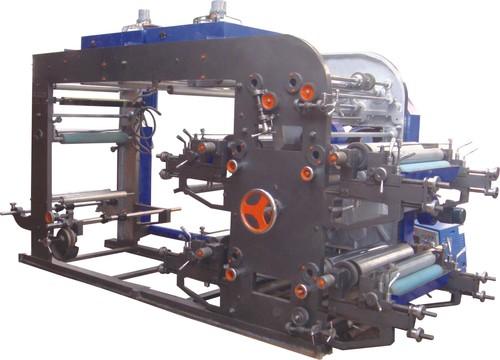 Non Woven And Plastic Bag Printing Machine