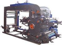 Woven Fabric Eight Colour Flexographic Printing Machine
