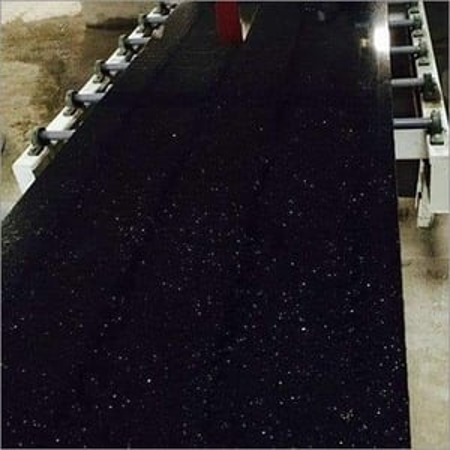 Black Galaxy Polished Granite Slab