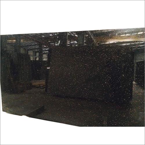 Black Galaxy Granite Kitchen Tops Slab