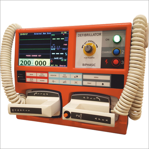Biphasic Defibrillator Monitor