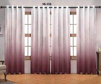 Blackout Digital Print Curtains