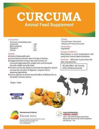 CURCUMA FEED SUPPLEMENT