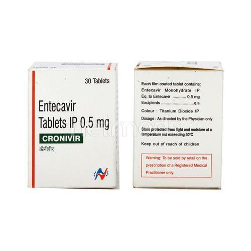 CRONIVIR 0.5 MG Tablet