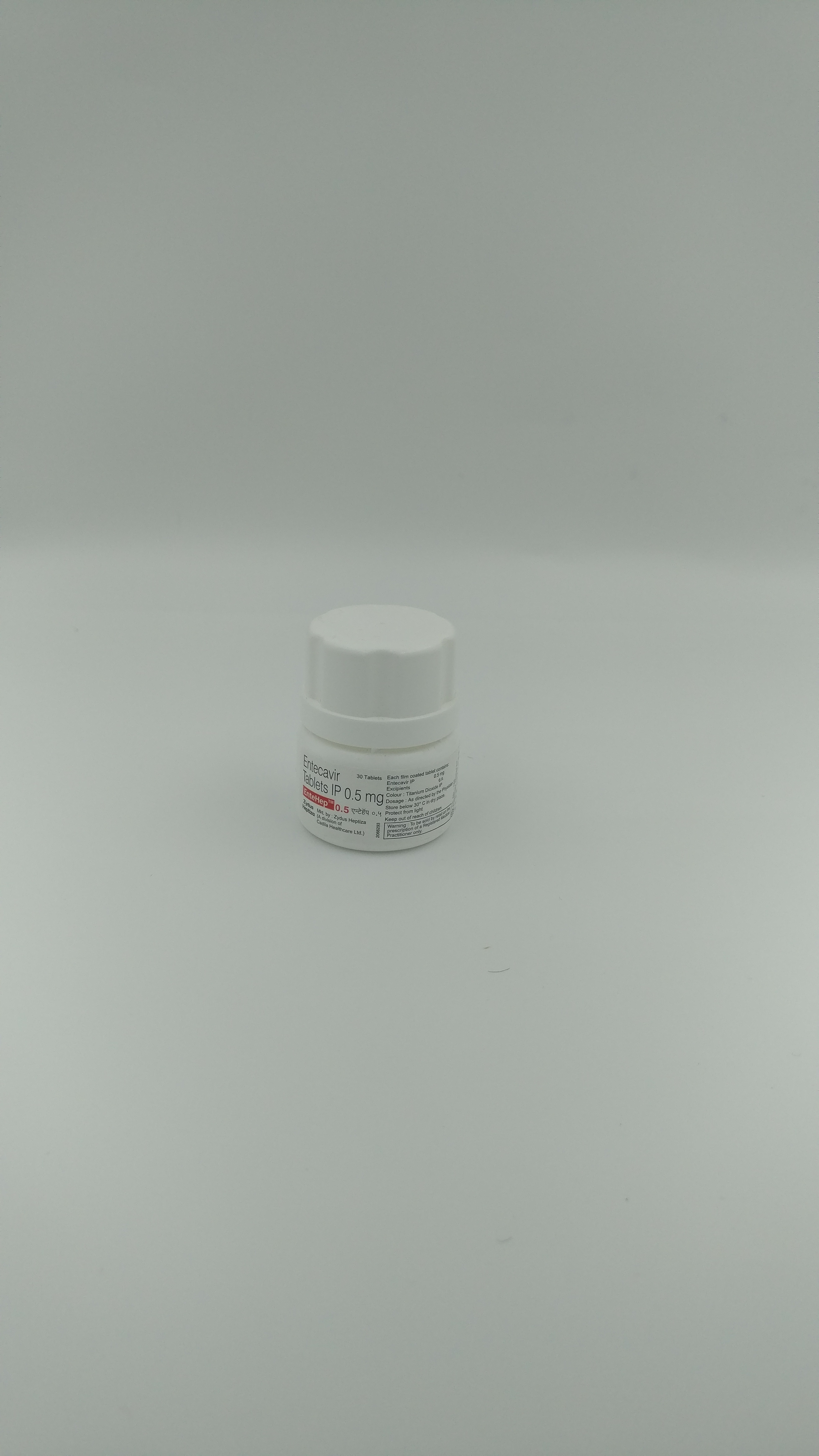 ENTEHEP 0.5 MG Tablet