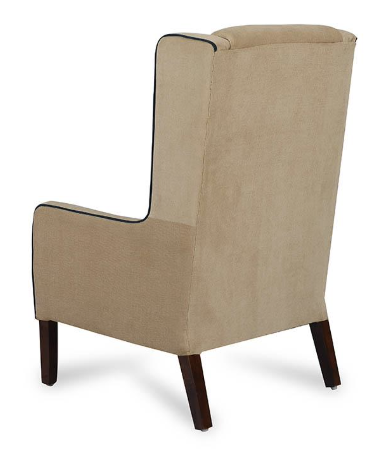 Camel Colour Wing Chair.