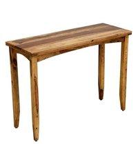 Console Table In Rustic Teak Finish.