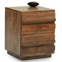 Two Drawer Bedside Table / End Table