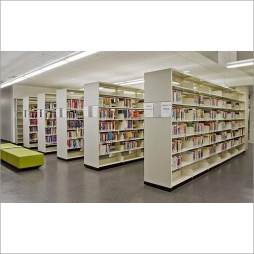 Steel Library Rack