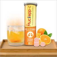 NAC 600+Vitamin C 500 Mg Effervescent Tablets