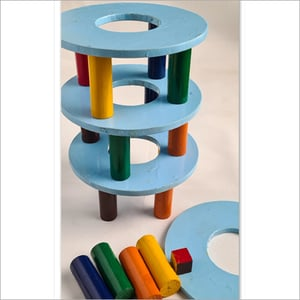 Leaning Tower Wooden Toys