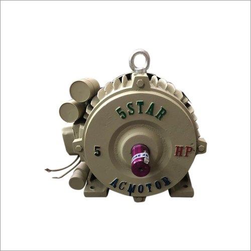 5 Star 5 HP Single Phase Aata Chakki Motor