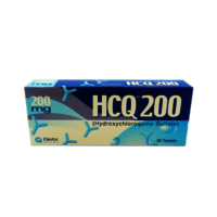 HCQ 200 MG -HYDROXYCHLOROQUINE SULFATE- 30 TABLETS