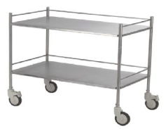 S.S Instrument Trolley Large
