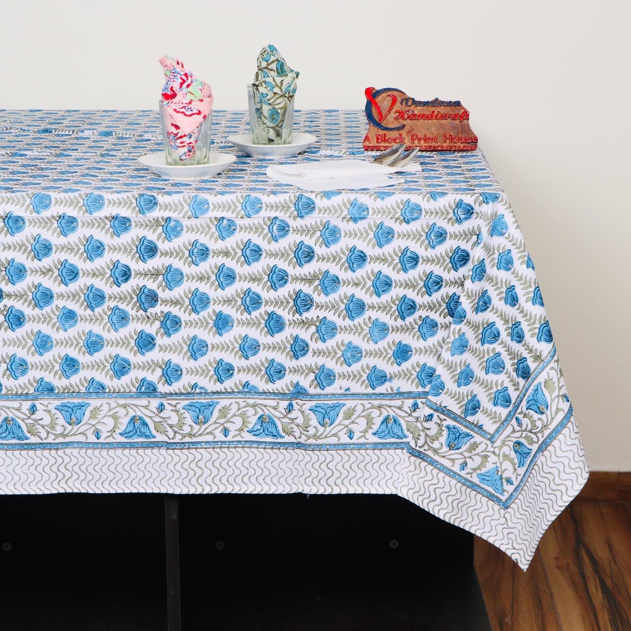 Smart collection Cotton Table Cover