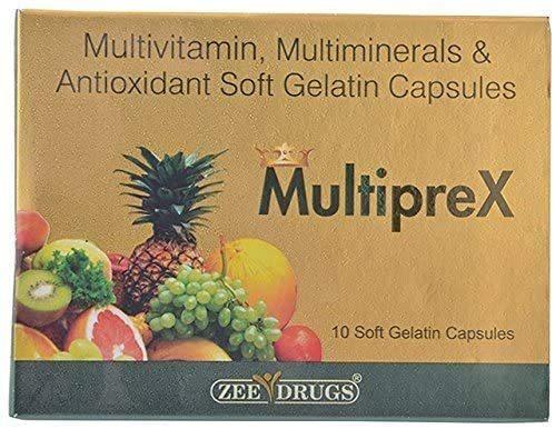Multiprex Cap (Multivitamin Multimineral & Antioxidant)