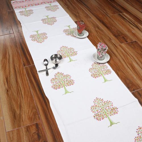All Hand Block Printed  Cotton Runner