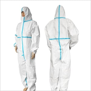 SFS Coverall Clothing Protective Coverall Isolation Clothing Disposable Full Body Protective Suit